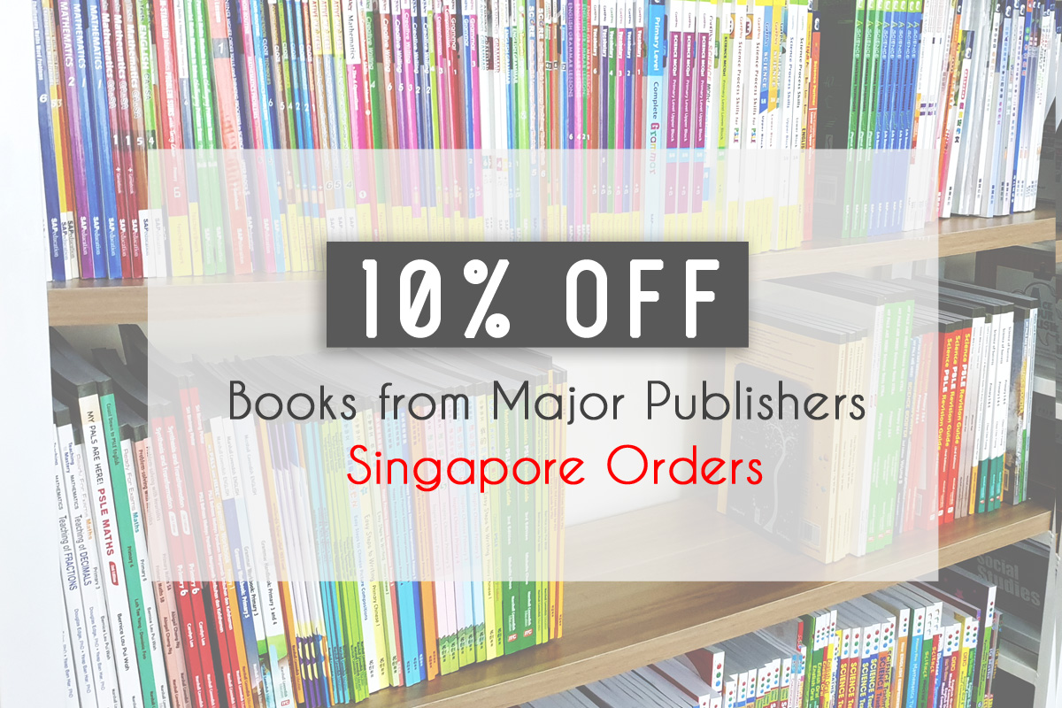 10% Off Major Publishers