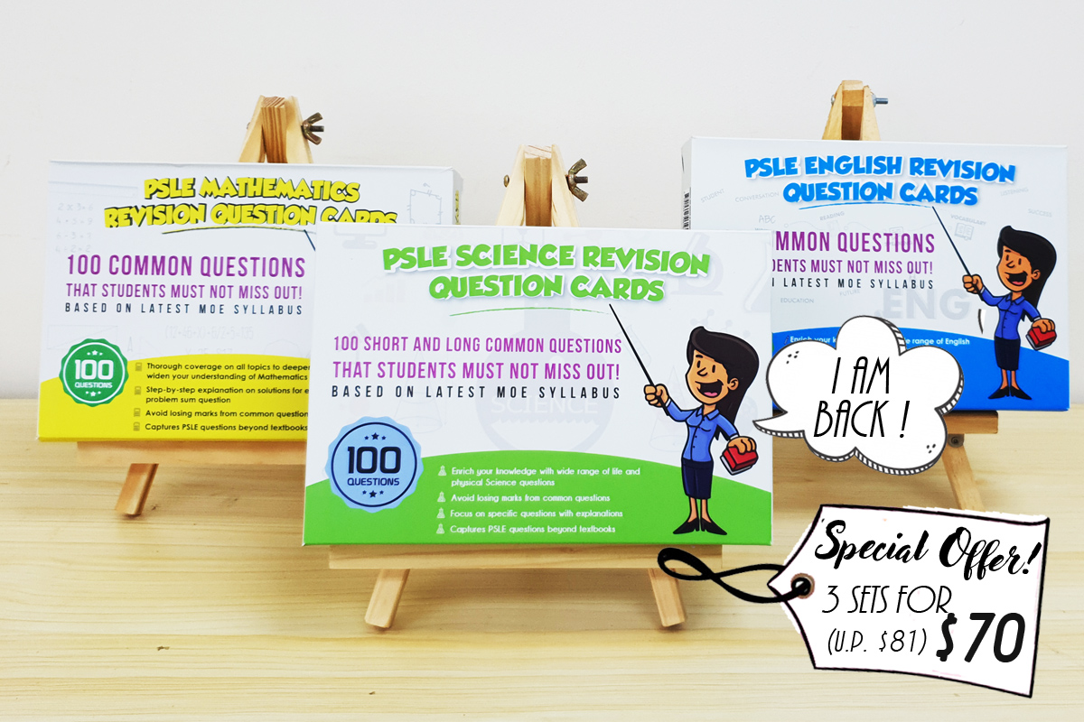 PSLE Revision Cards