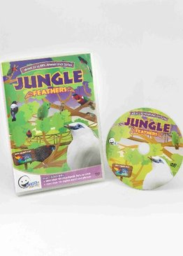 WINK to LEARN Animal Encyclopedic DVD: Jungle Feathers (English/ Chinese)