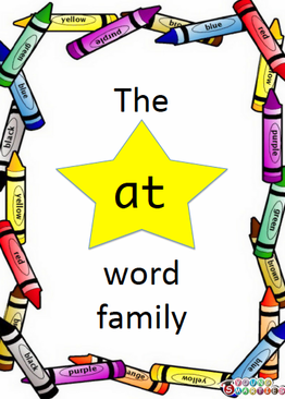 """THE """"AT"""" WORD FAMILY"""