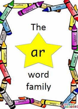 """The """"ar"""" word family"""
