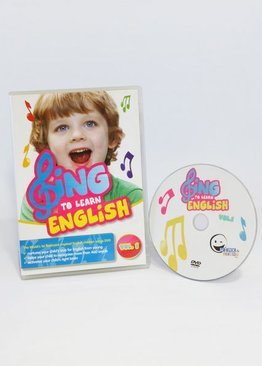 WINK to LEARN - SING to LEARN English DVD (Vol. 1)