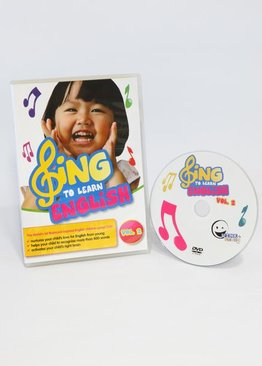 WINK to LEARN - SING to LEARN English DVD (Vol. 2)