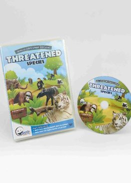 WINK to LEARN Animal Encyclopedic DVD: Threatened Species (English)