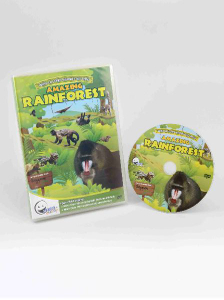 WINK to LEARN Animal Encyclopedic DVD: Amazing Rainforest (English/ Chinese)
