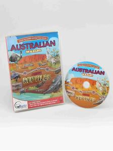 WINK to LEARN Animal Encyclopedic DVD: Australian Wildlife & Asian Reptiles (English/ Chinese)