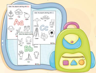 A-Z phonics worksheets