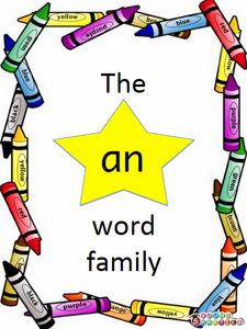 "The ""an"" word family"