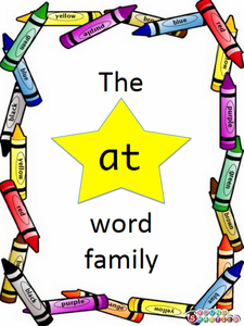 "THE ""AT"" WORD FAMILY"