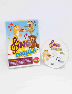 WINK to LEARN - SING to LEARN English DVD (Vol. 3)