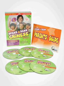 WINK to LEARN - Speak & Read Chinese 6-DVDs Program (Includes Simplified & Traditional Chinese)