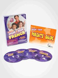 WINK to LEARN - Speak & Read French 4-DVDs Program