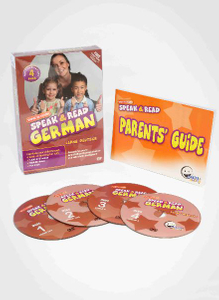 WINK to LEARN - Speak & Read German 4-DVDs Program