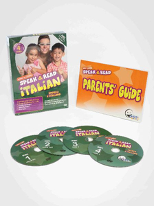 WINK to LEARN - Speak & Read Italian 4-DVDs Program