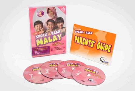 WINK to LEARN - Speak & Read Malay 4-DVDs Program