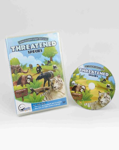 WINK to LEARN Animal Encyclopedic DVD: Threatened Species (English/Chinese)