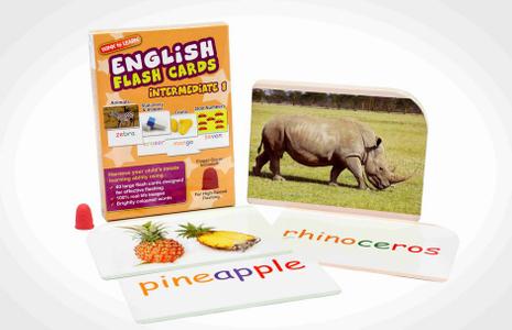 WINK to LEARN English Flash Cards - Intermediate 1