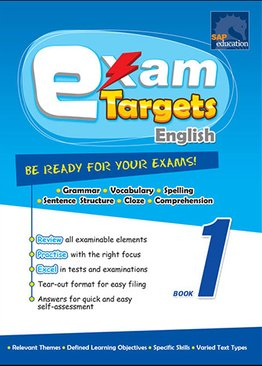 Exam Targets English Book 1