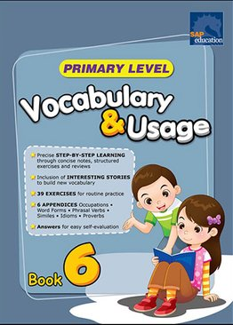 Primary Level Vocabulary and Usage Book 6