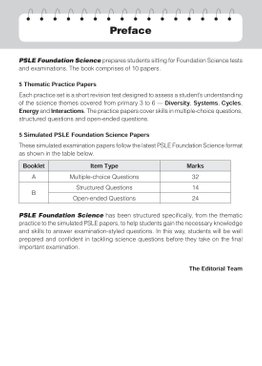 PSLE Foundation Science