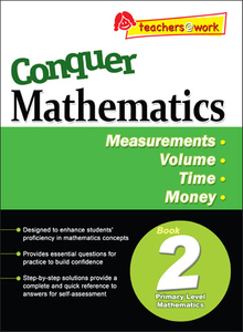 Conquer Mathematics Measurements - Volume - Time - Money Book 2