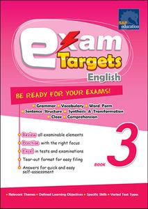 Exam Targets English Book 3