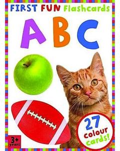First Fun Flashcards - ABC