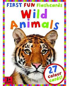 First Fun Flashcards - Wild Animals