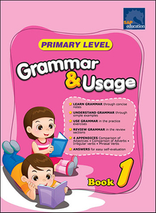 Primary Level Grammar and Usage Book 1