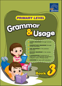 Primary Level Grammar and Usage Book 3