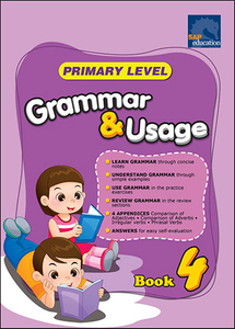 Primary Level Grammar and Usage Book 4