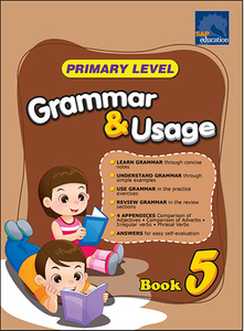 Primary Level Grammar and Usage Book 5