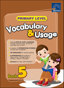 Primary Level Vocabulary and Usage Book 5