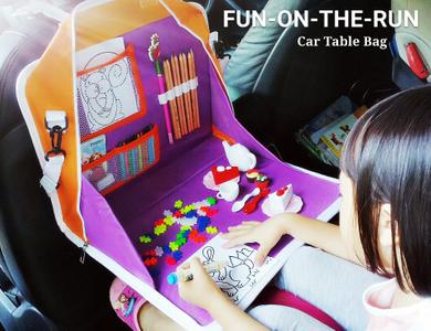 Fun-On-the-Run Car Table Bag