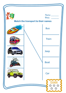 Match the Name - Transport