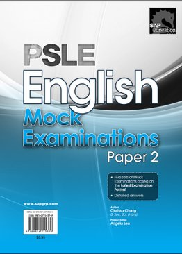 PSLE English Mock Examinations (Paper 2)