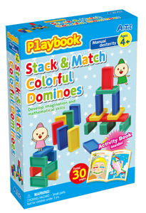Artec Playbook Series - Stack & Match Colorful Dominoes