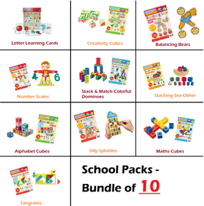Artec Playbook Series - BUNDLE of 10 SCHOOL PACKS!