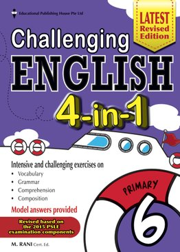 Challenging English 4-In-1 6
