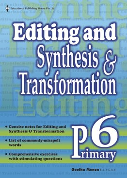 Editing, Synthesis & Transformation 6