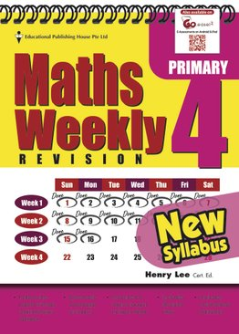 Maths Weekly Revision 4