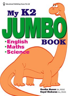 My Preschool Jumbo Book - K2