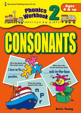 Phonics Workbook Series - Consonants
