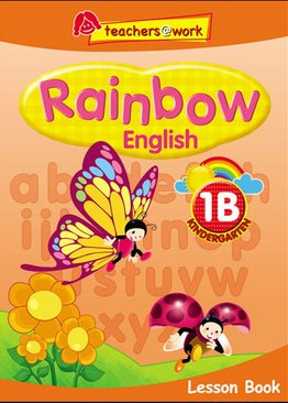 Rainbow English Lesson Book K1B