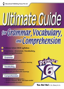Ultimate Guide For Grammar, Vocabulary & Comprehension 6