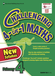 Challenging 4-In-1 Maths 4