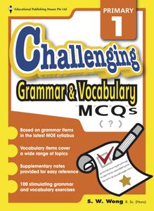 Challenging Grammar & Vocabulary MCQs 1