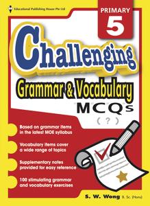 Challenging Grammar & Vocabulary MCQs 5