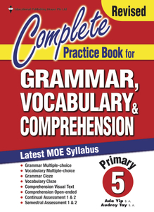 Complete Practice Book For Grammar, Vocabulary & Comprehension 5