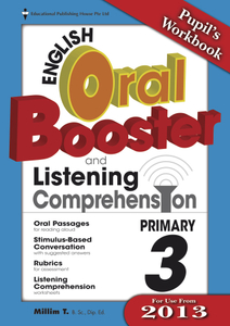 English Oral Booster & Listening Comprehension Package 3